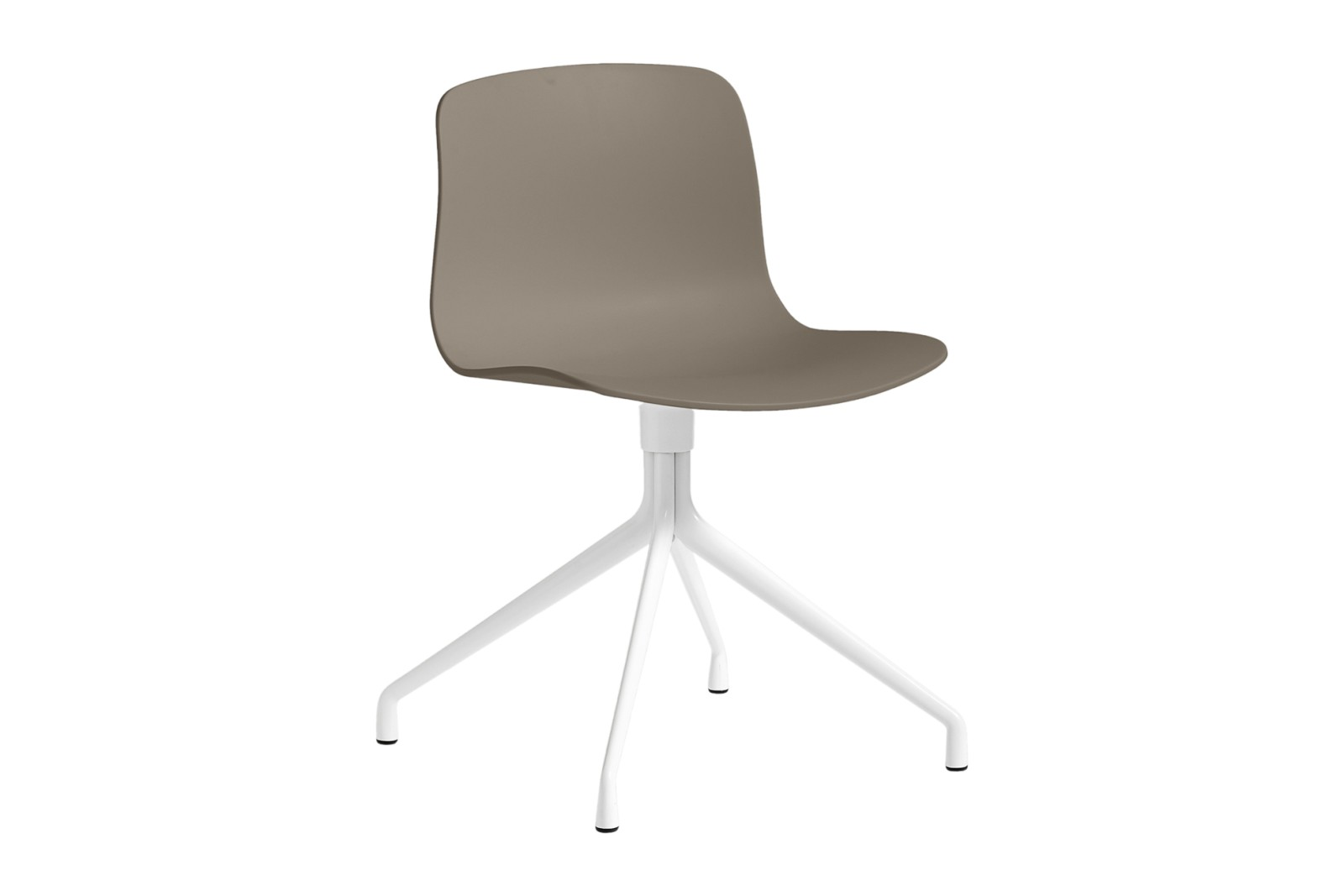 About A Chair AAC10 Khaki, White Powder Coated Aluminium
