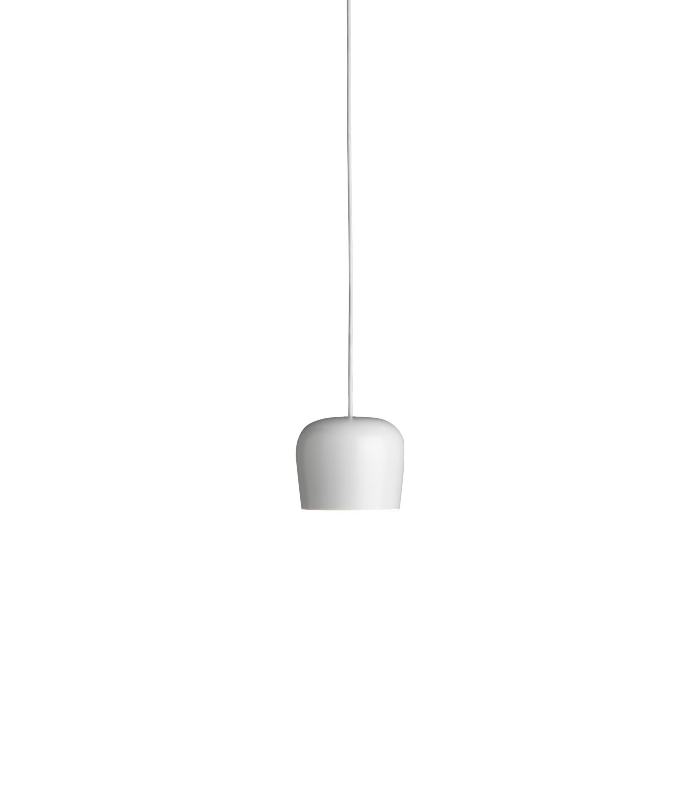 Aim Small Fix Pendant Light White, No