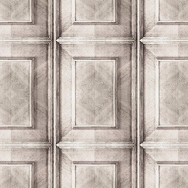 Dutch Inlay Panelling Wallpaper Bleached Dutch Inlay Panelling Wallpaper