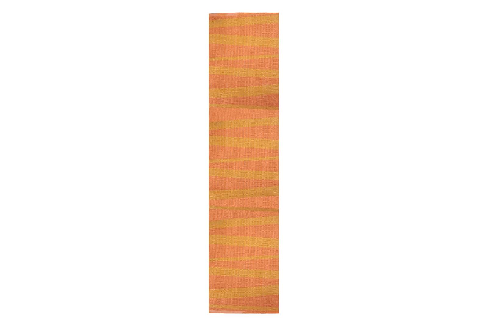 Åre Striped Rug Orange, 300x70