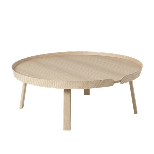 Around Extra Large Coffee Table Oak