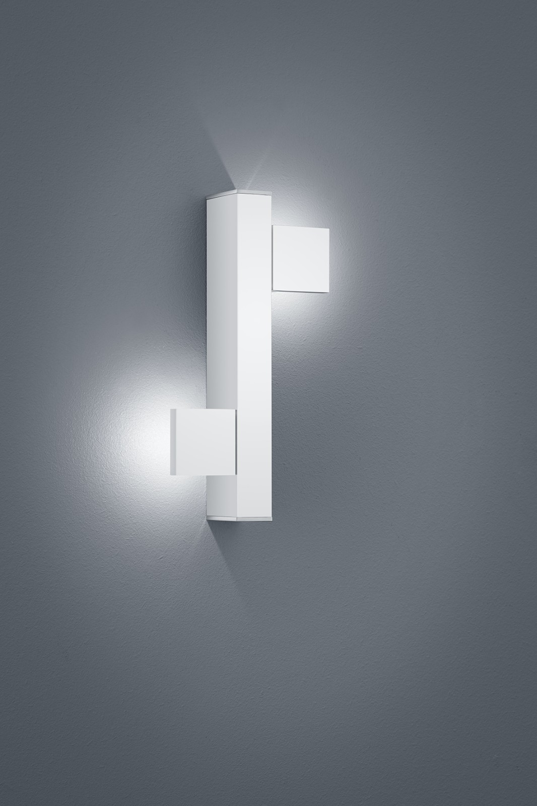 Arta Wall Light White Matt - Chrome