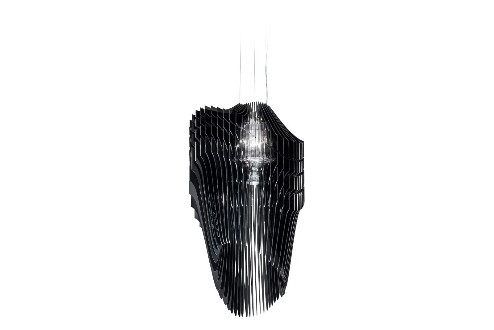 Avia Pendant Light Black, Small