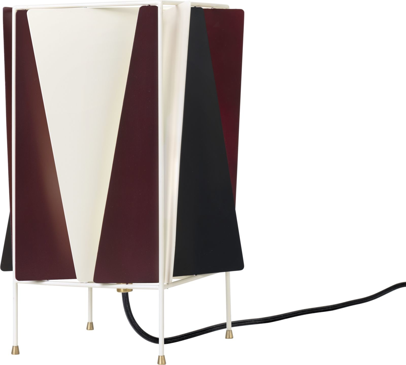 B-4 Table Lamp Chianti Red Semi Matt