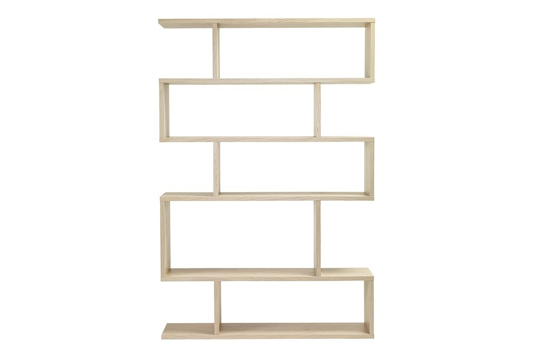 Balance Tall Shelving Limed Oak
