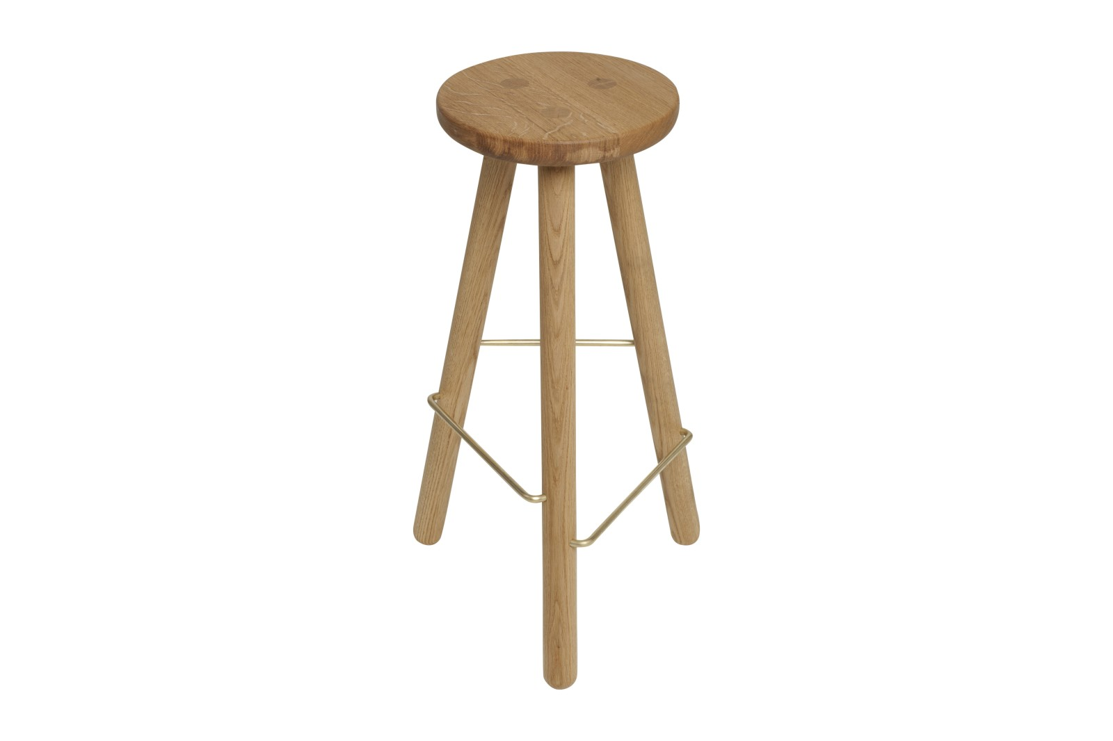 Bar Stool One Oak, 76