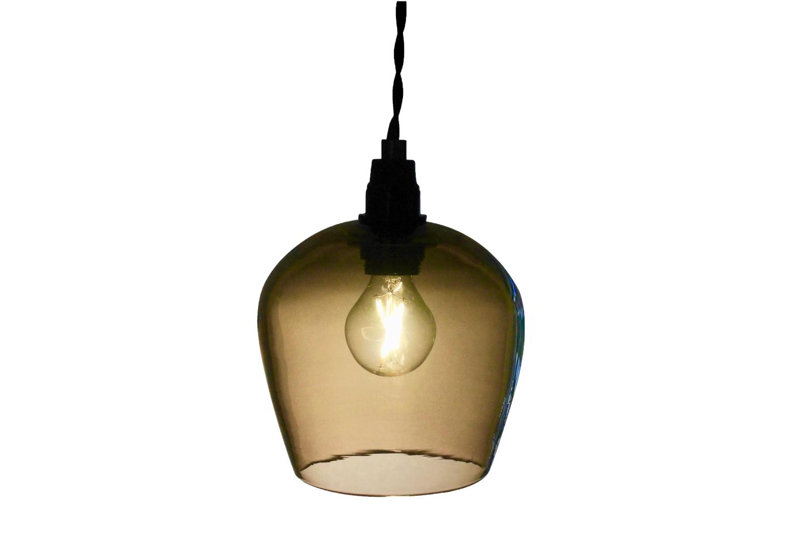 Bell Pendant Light Honey, 12.5cm