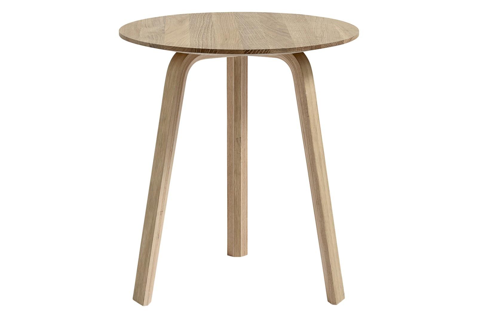 Bella D45 x H49 Coffee Table Wood Matt Oak