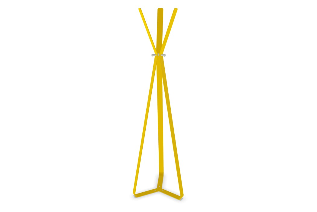 Bend Coat Stand Signal Yellow