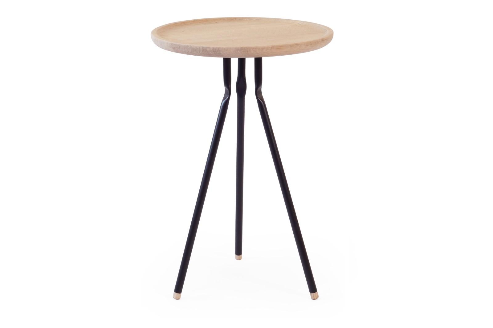 Bend Side Table Side Table Oak