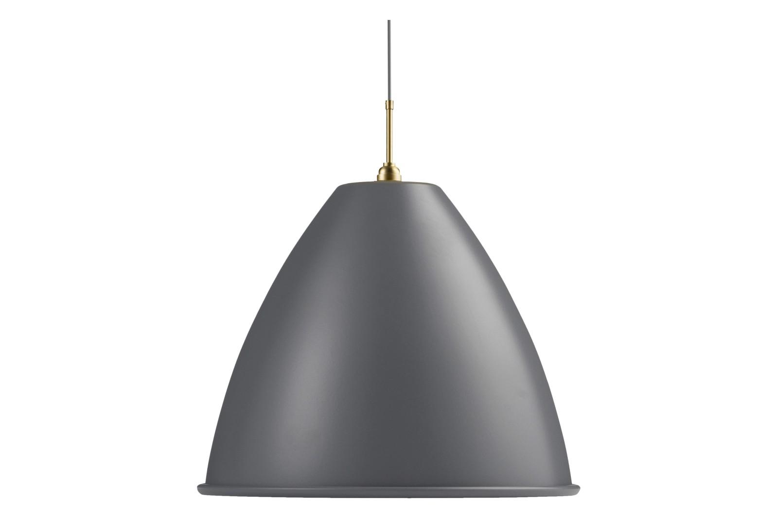 Bestlite BL9 Extra Large Pendant Light Grey/Brass