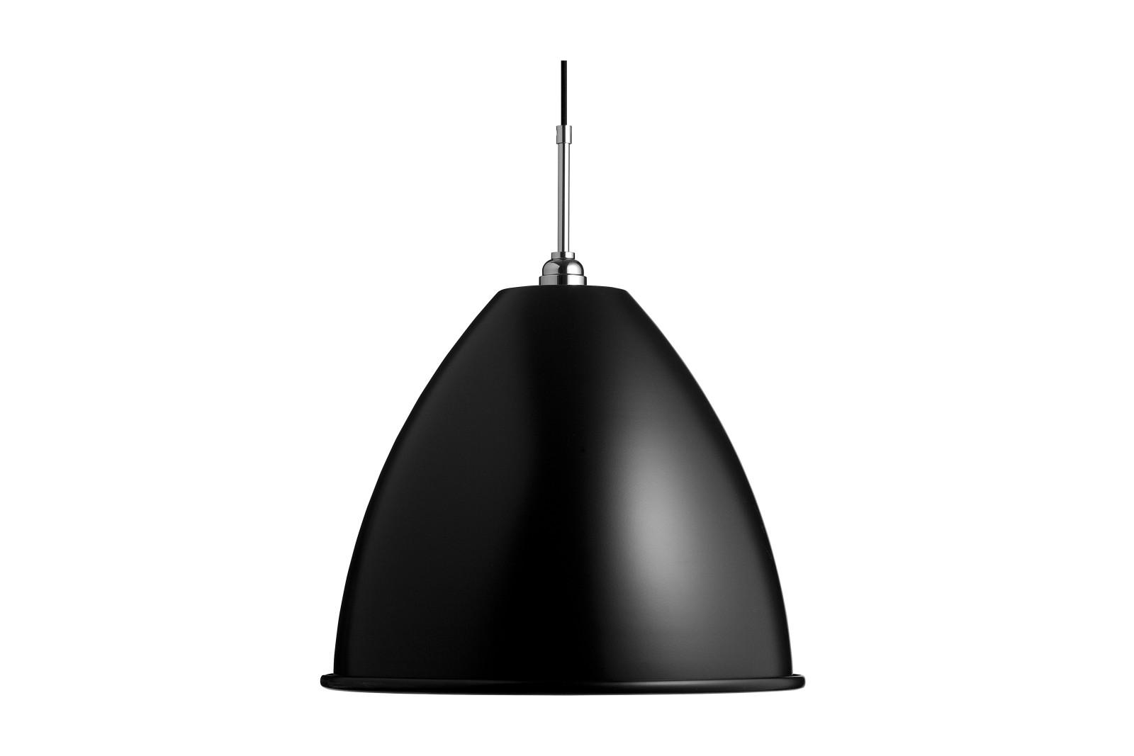 Bestlite BL9 Large Pendant Light Matt Black / Chrome