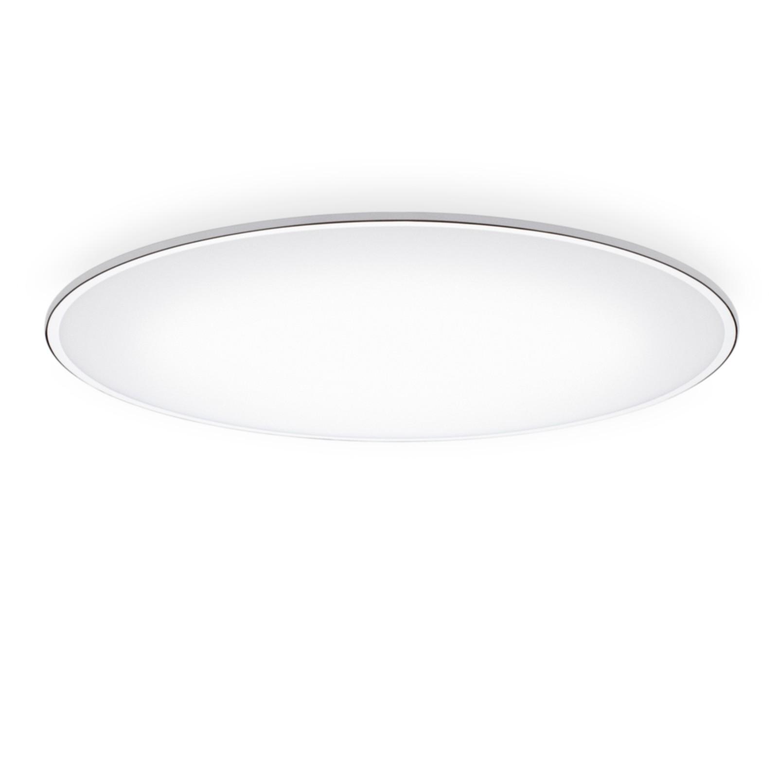 Big Ceiling Light - LED Chrome, 120cm, 3000