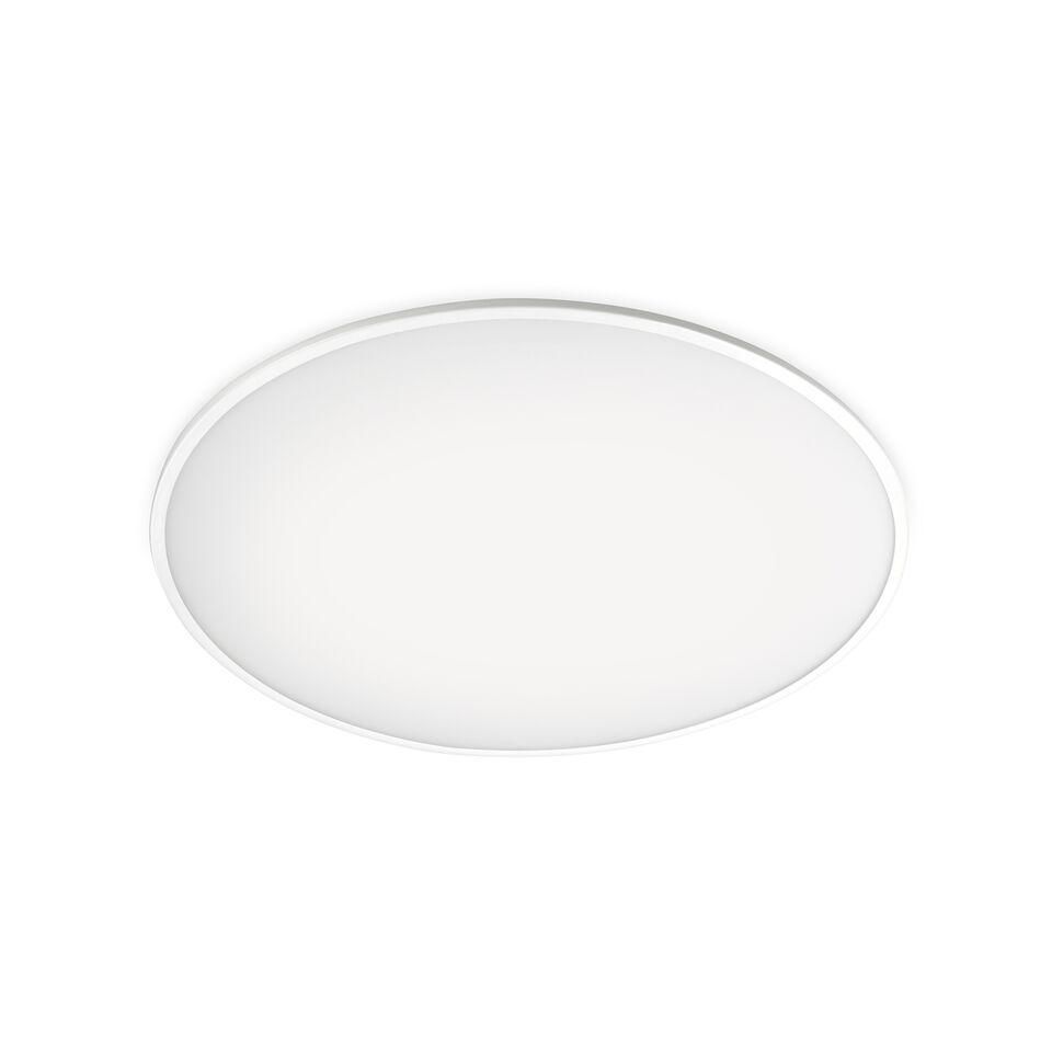Big Ceiling Light Matt White Lacquer, 100cm