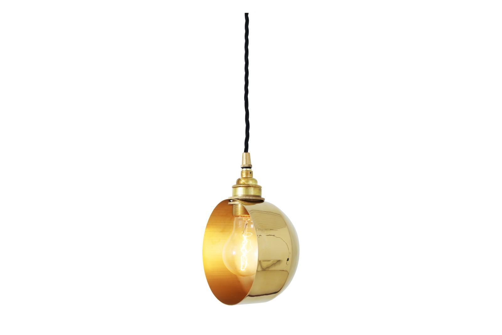 Bogota Pendant Light Polished Brass
