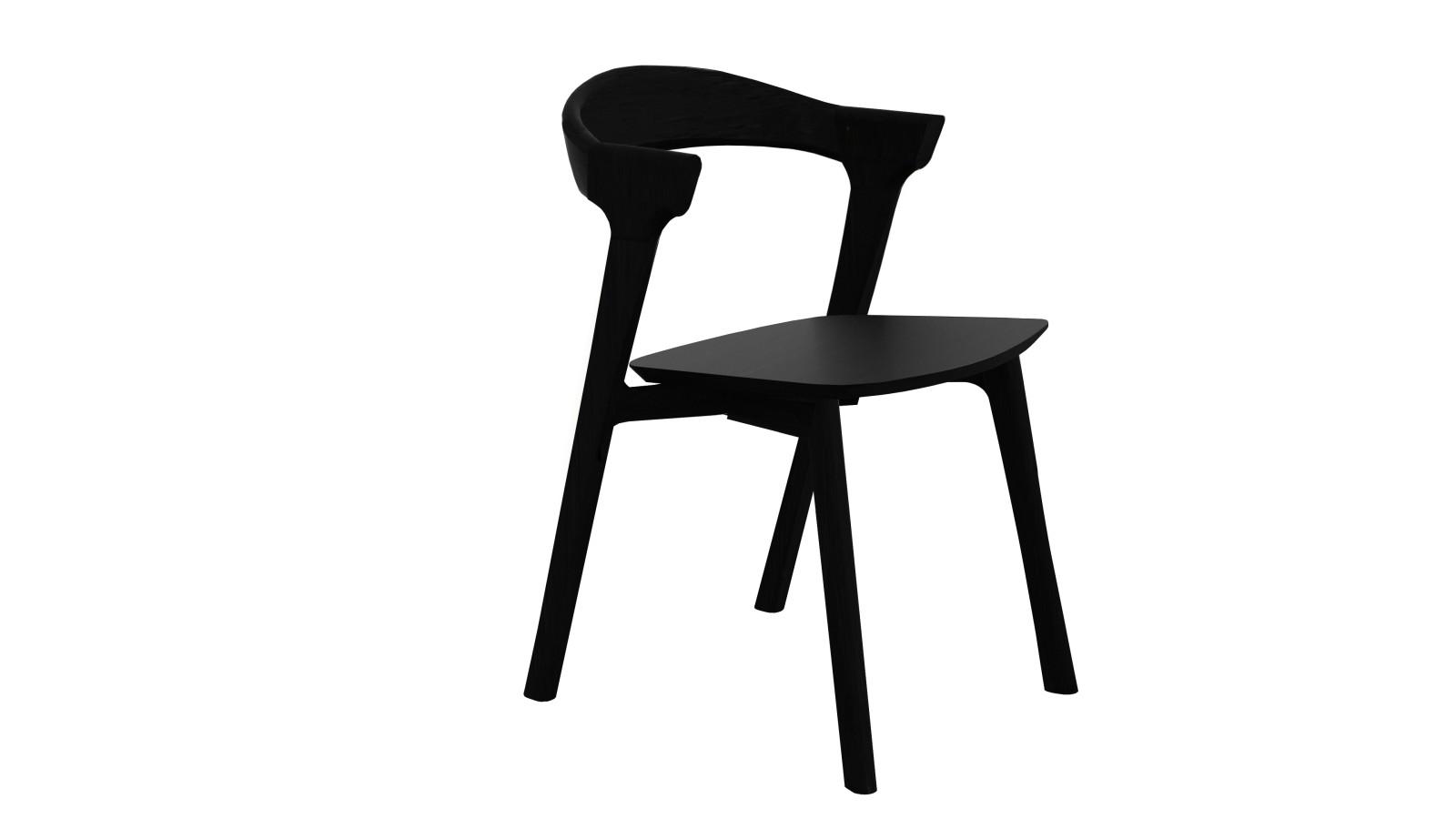 Bok dining chair Black