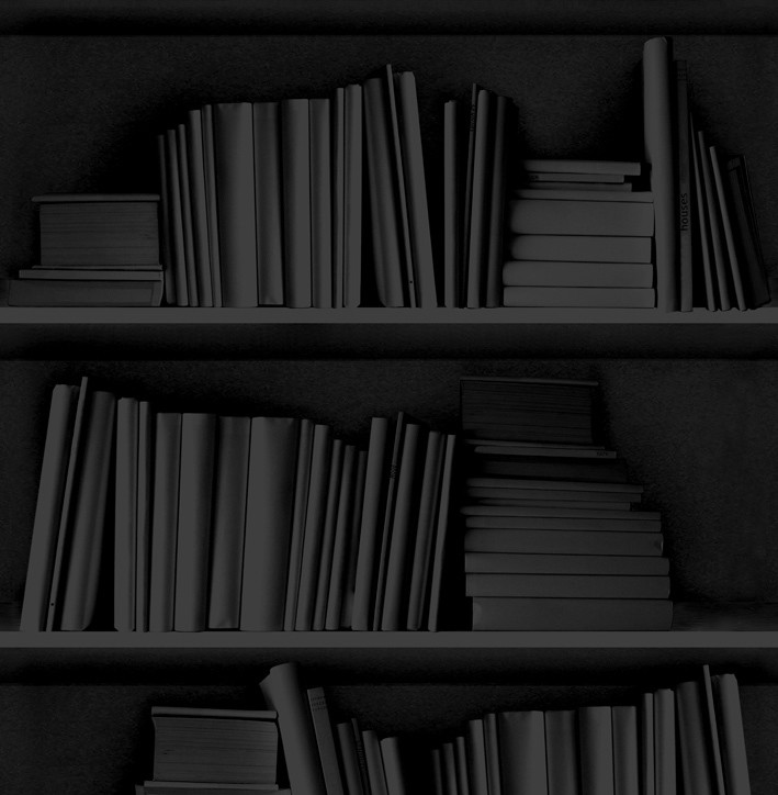 Bookshelf Wallpaper Black Bookshelf Wallpaper