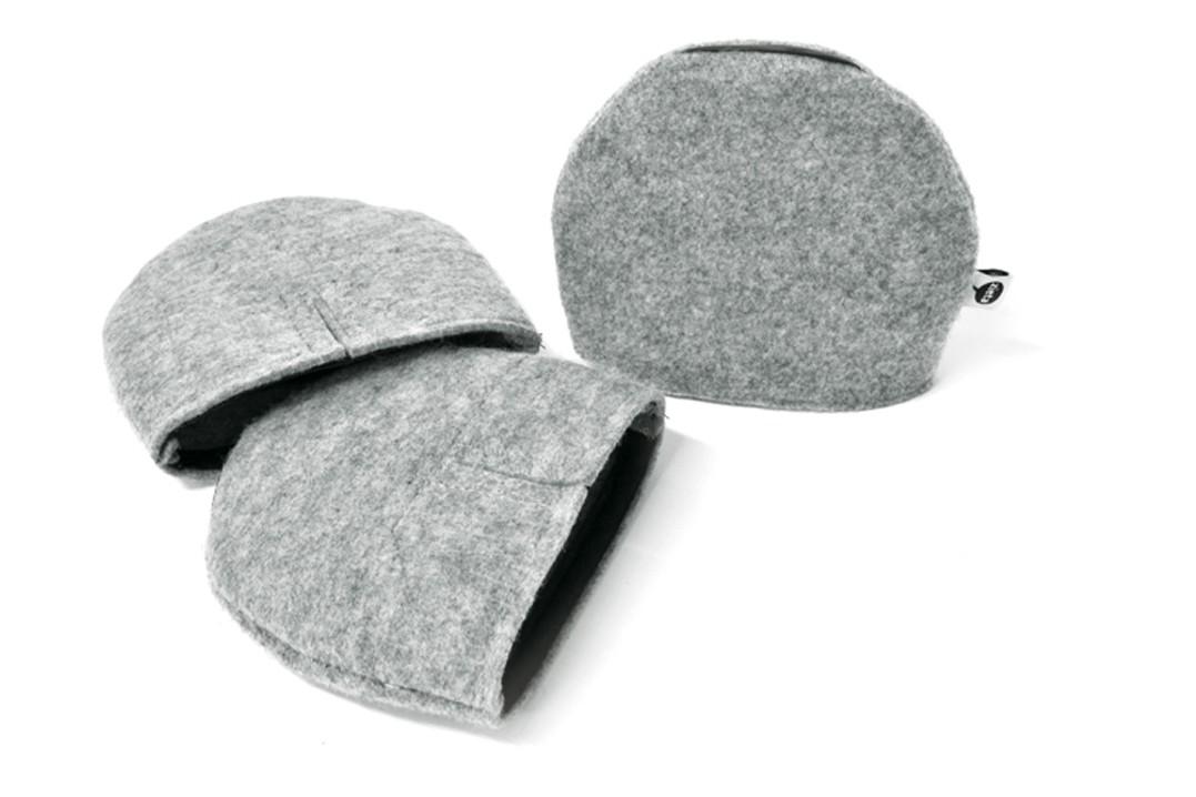 Botki Socks for Plopp Chair Felt Grey, Standard