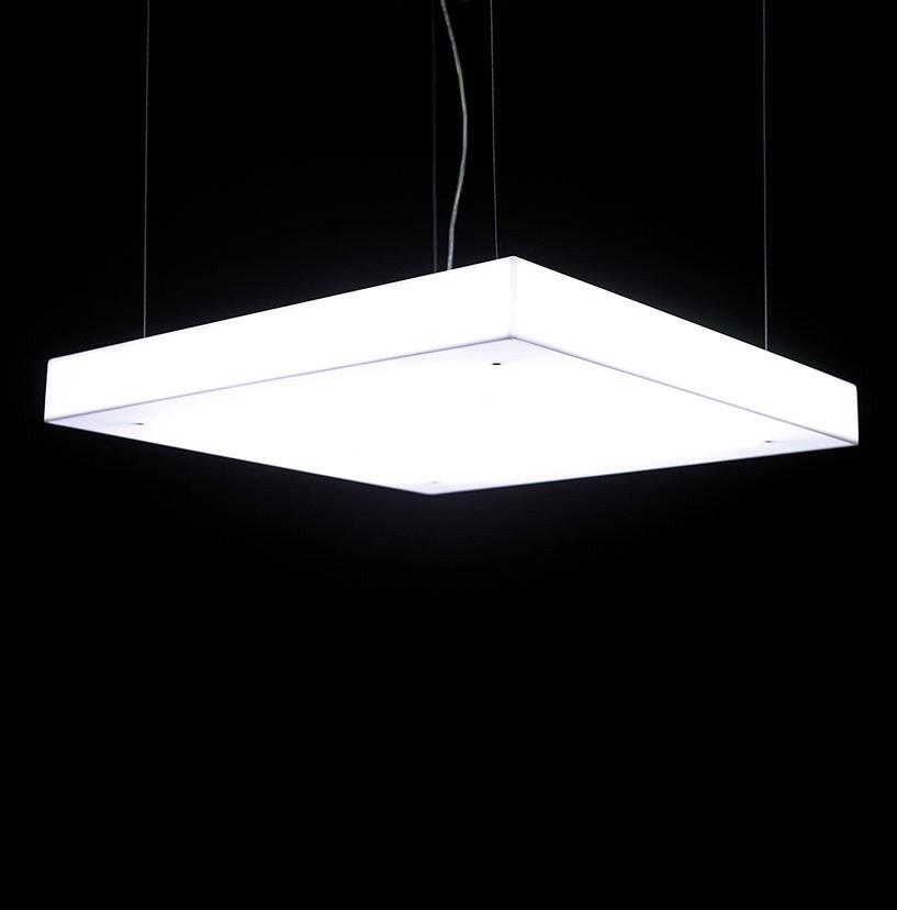 Box 70 Suspension Light No, Opal White
