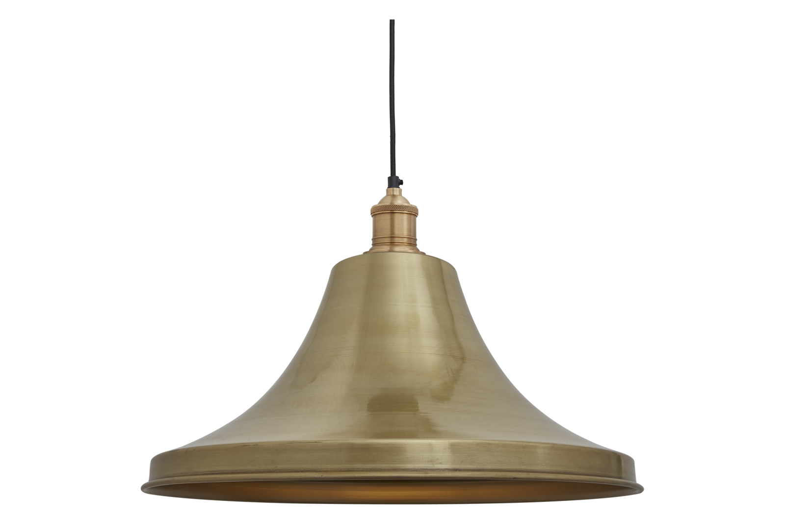 Brooklyn Giant Bell Pendant - 20 Inch Brooklyn Giant Bell Pendant - 20 Inch - Brass - Brass Holder