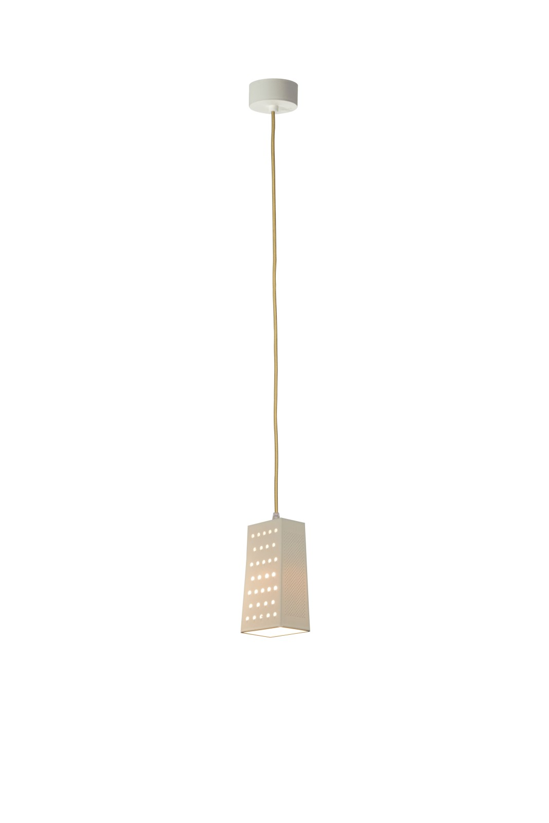 Cacio and Pepe S Pendant Light White, Gold