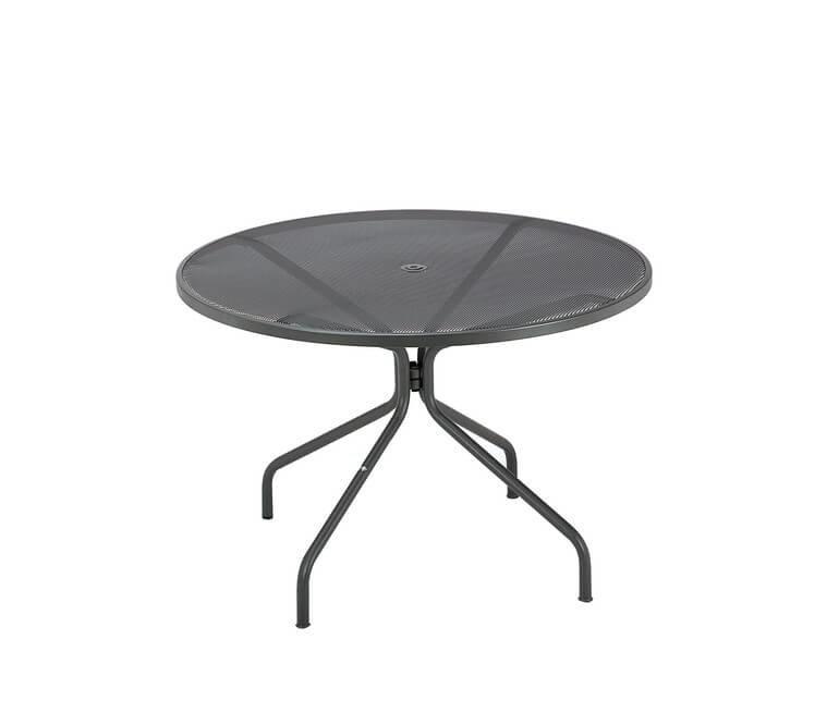 Cambi Round Table Large, Matt White