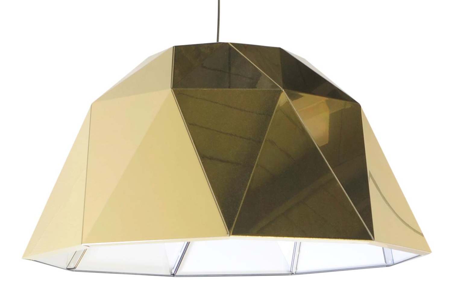 Carat Pendant Light Gold
