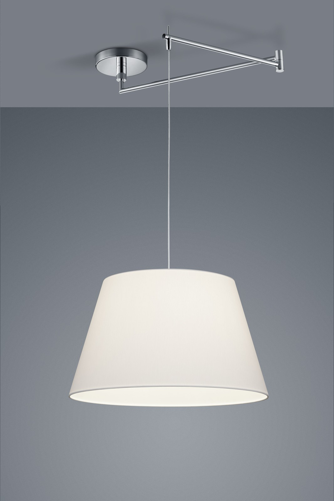 Certo One-Light Conic Pendant Light White