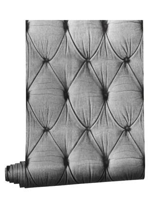 Chesterfield Wallpaper Standard Roll, Grey