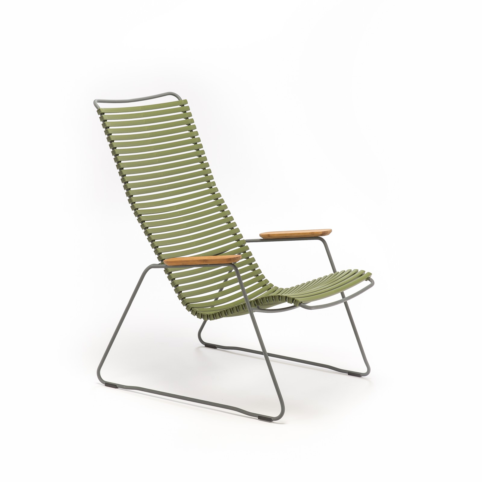 Click Lounge Chair Olive Green