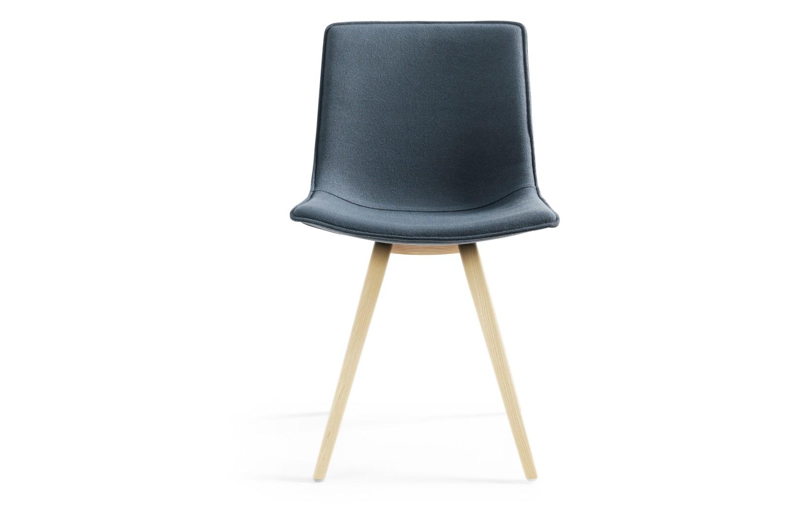 Comet Sport Dining Chair Wooden Base Blazer Aberdeen CUZ87, Natural