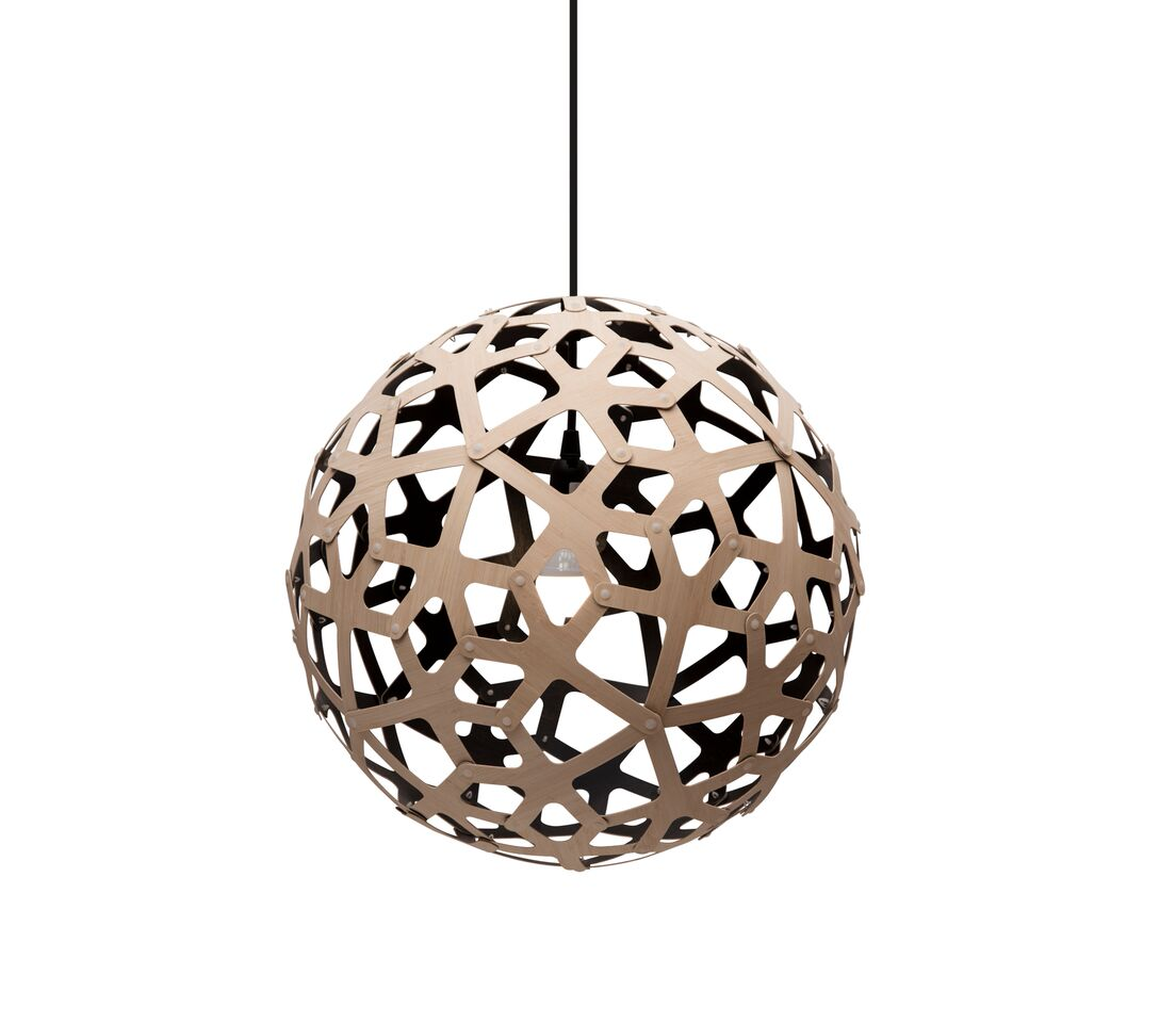 Coral Pendant Light Black 1 Inside, 40