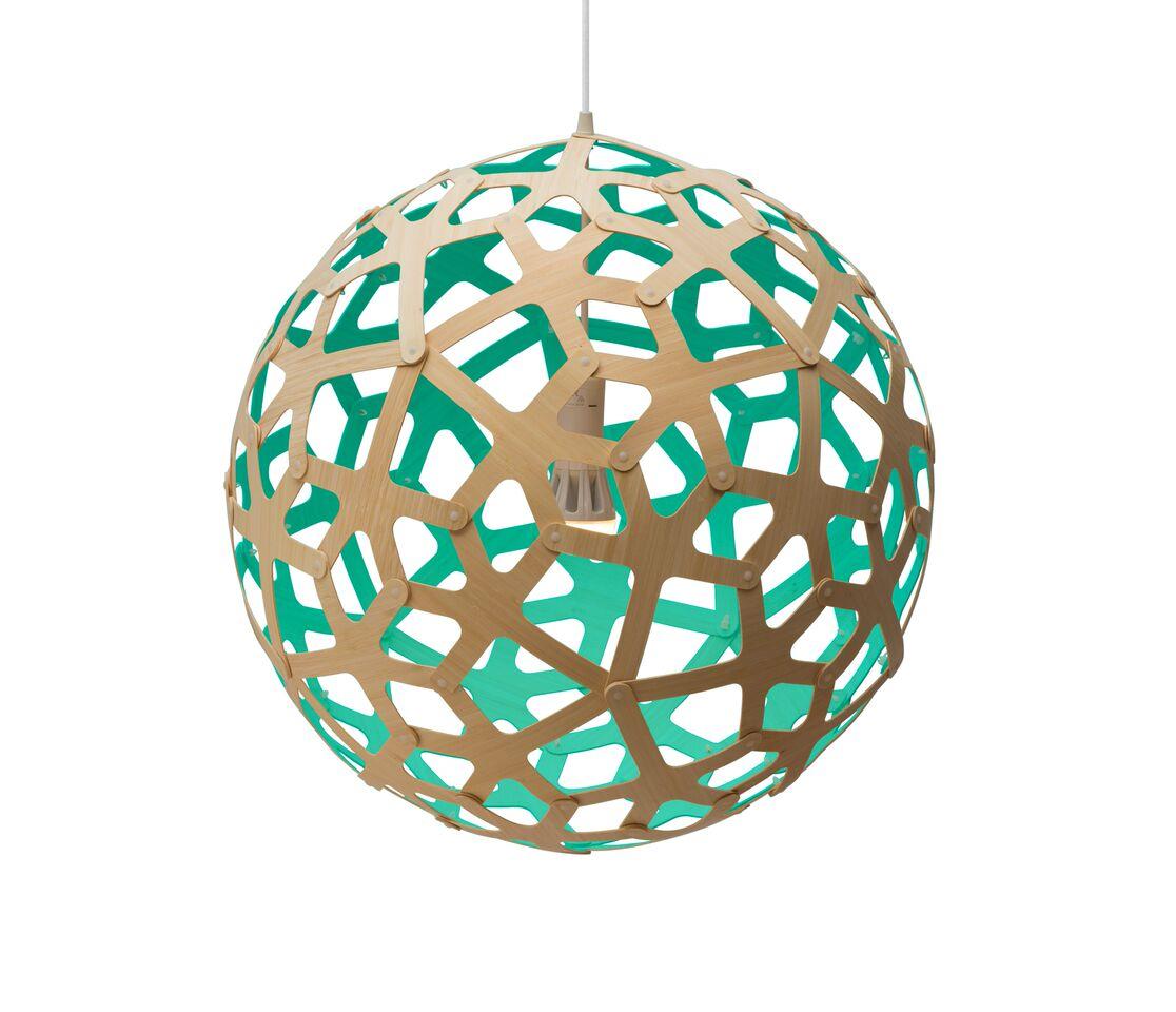 Coral Pendant Light Aqua, 60