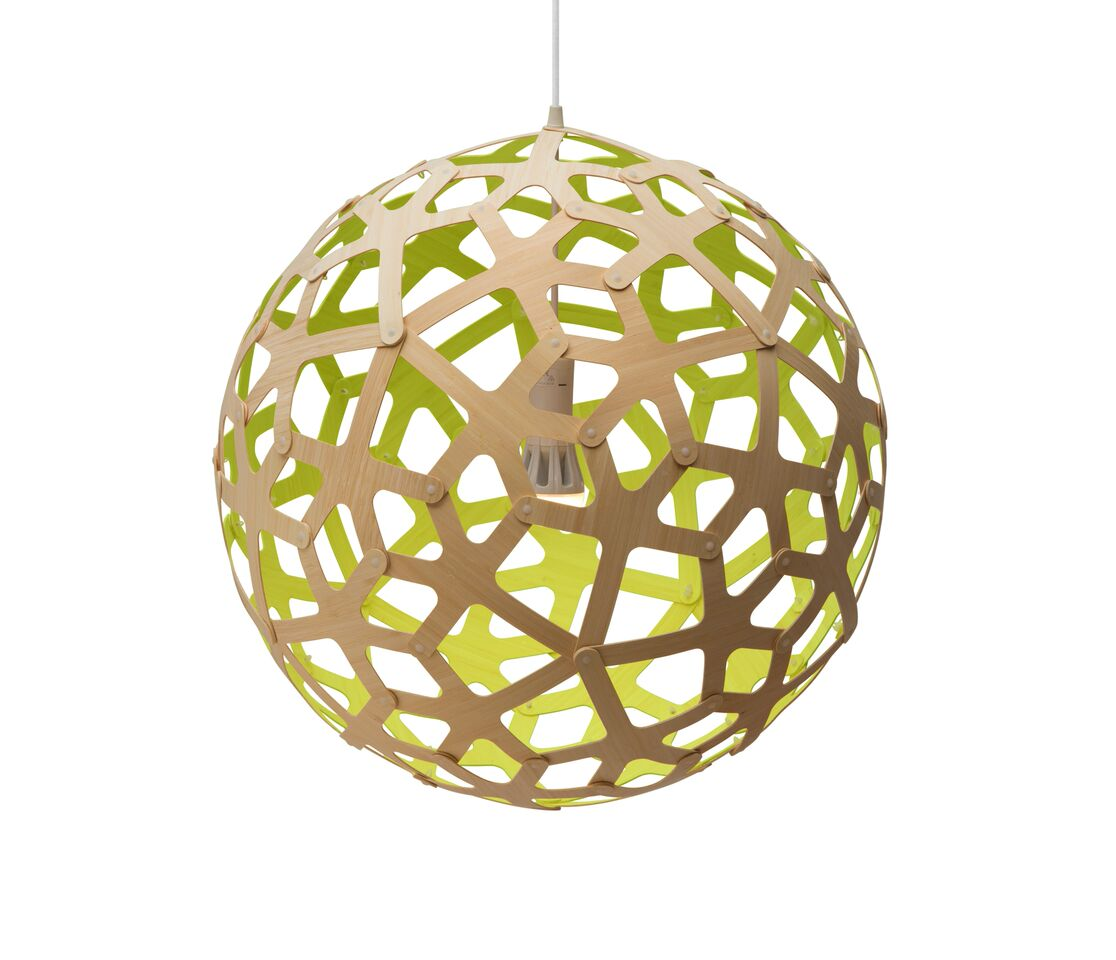 Coral Pendant Light Lime, 60