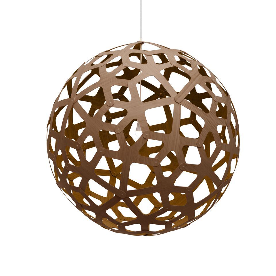 Coral Pendant Light Caramel, 80