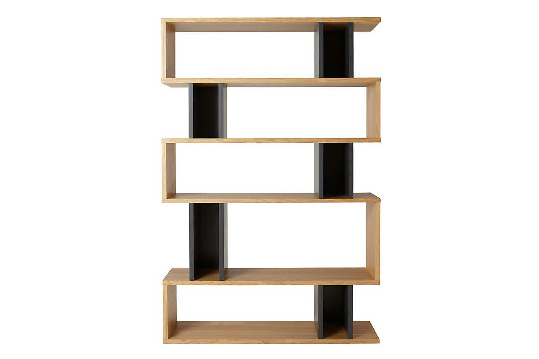 Counter Balance Tall Shelving Charcoal