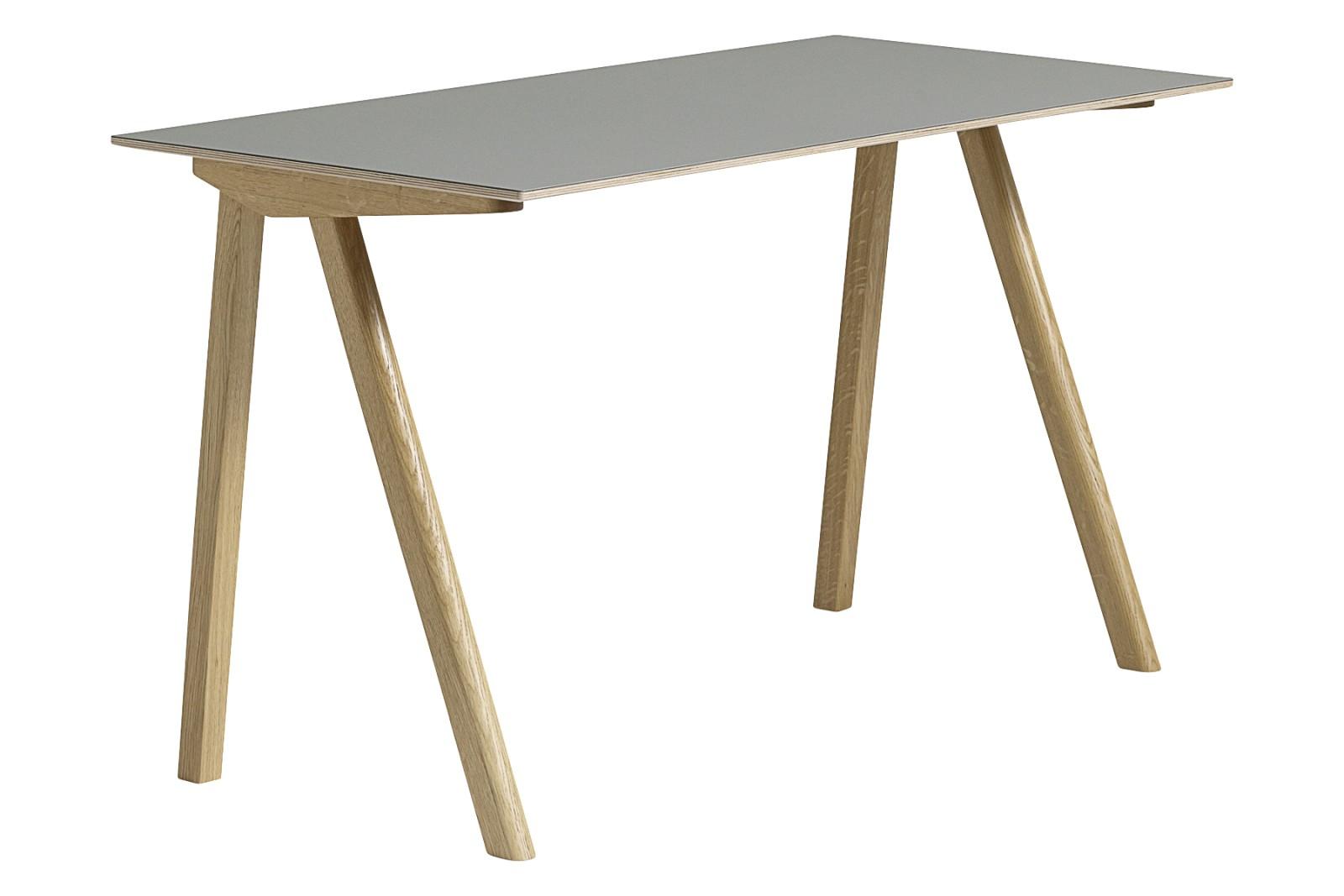 CPH 90 Desk Linoleum Grey / Wood Clear Oak