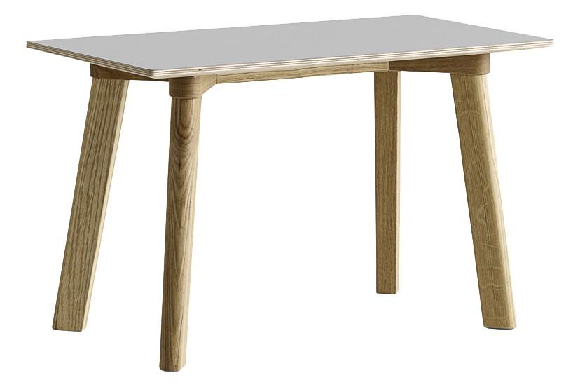 CPH Deux 215 Bench Laminate Dusty Grey / Wood Matt Oak, 75 x 35cm