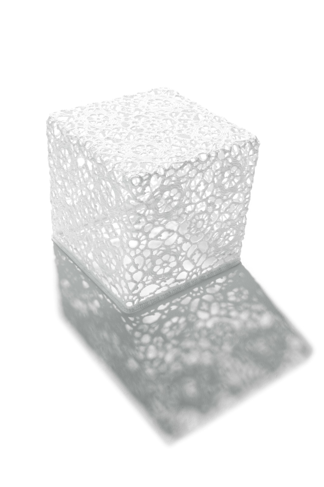 Crochet Side Table - Square