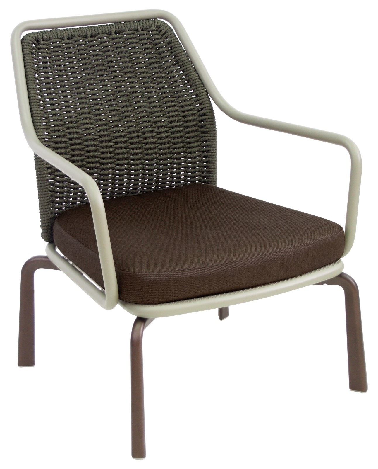 Cross Lounge Chair Indian Brown 41, Brown 42, Indian Brown 41