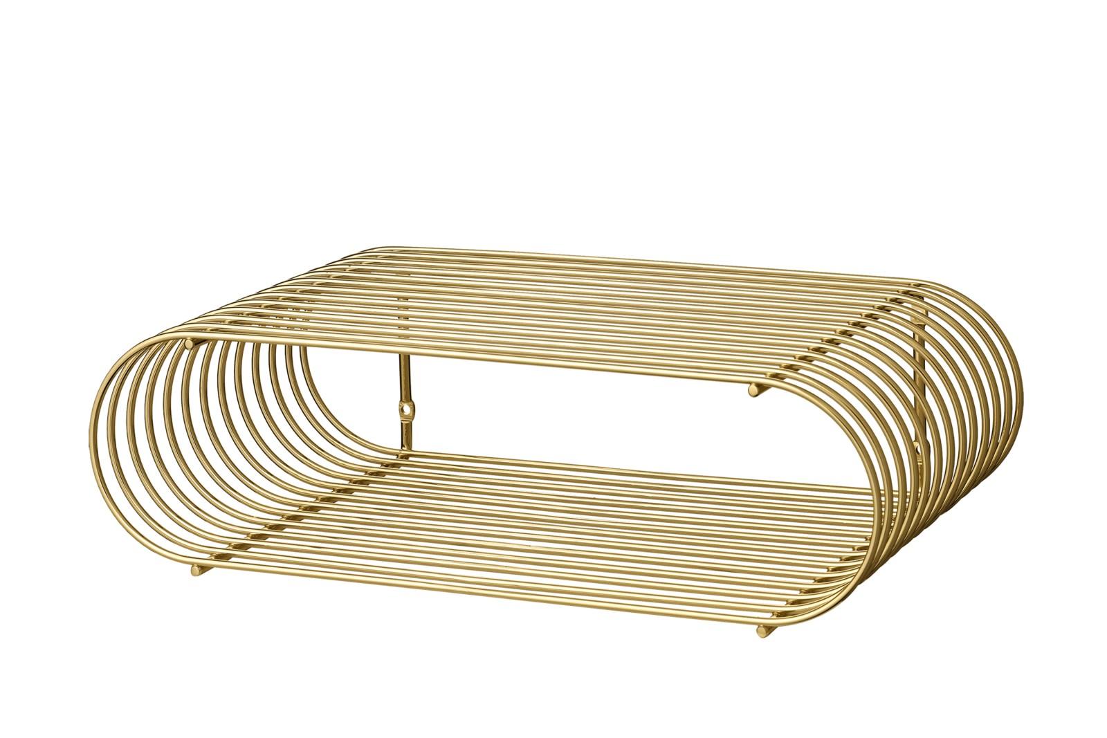 Curva Shelf - Set of 2 Gold