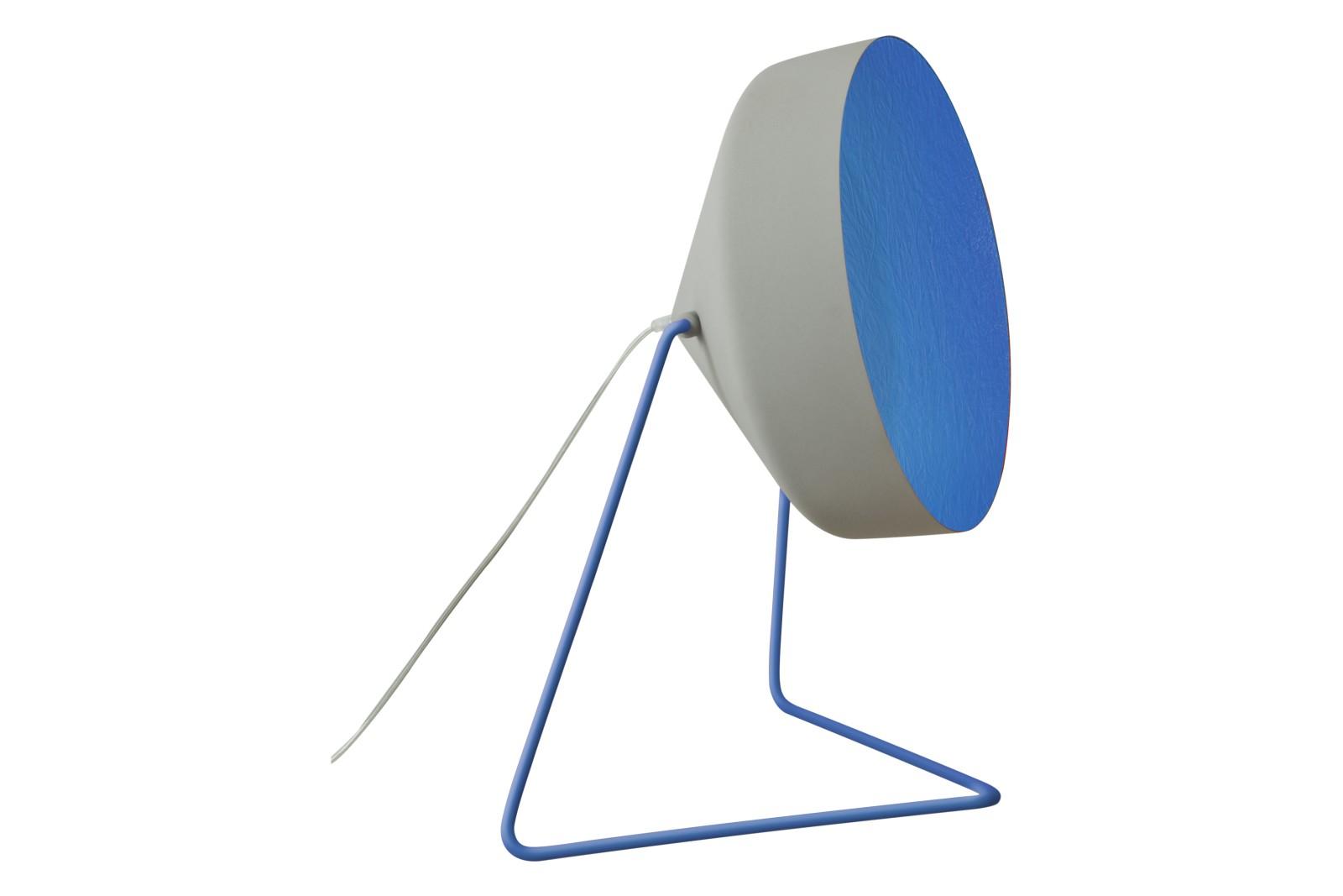 Cyrcus F Floor Lamp Cemento, Grey, Blue