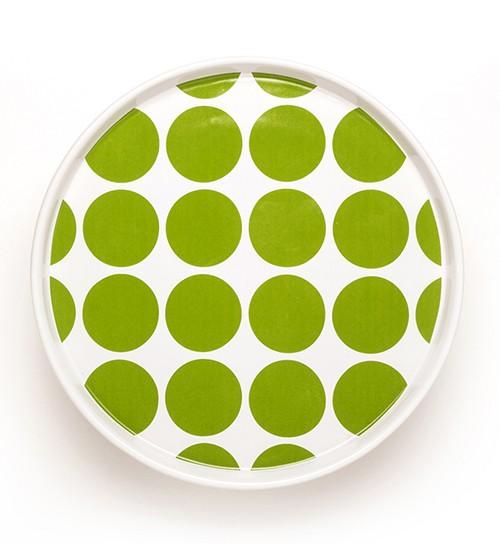 DIDO plate - spots green