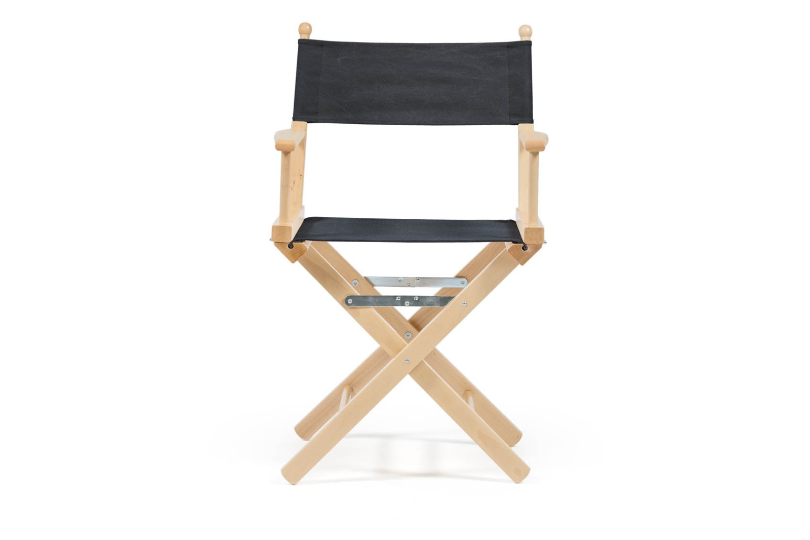 Director's Chair Charcoal Black, Natural