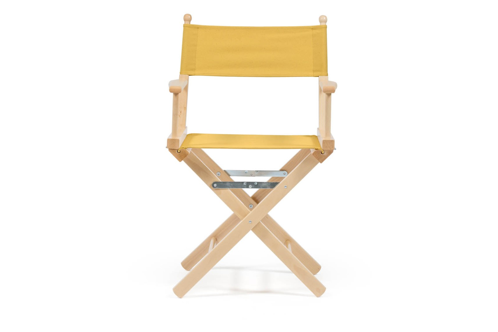 Director's Chair Mustard Yellow, Natural