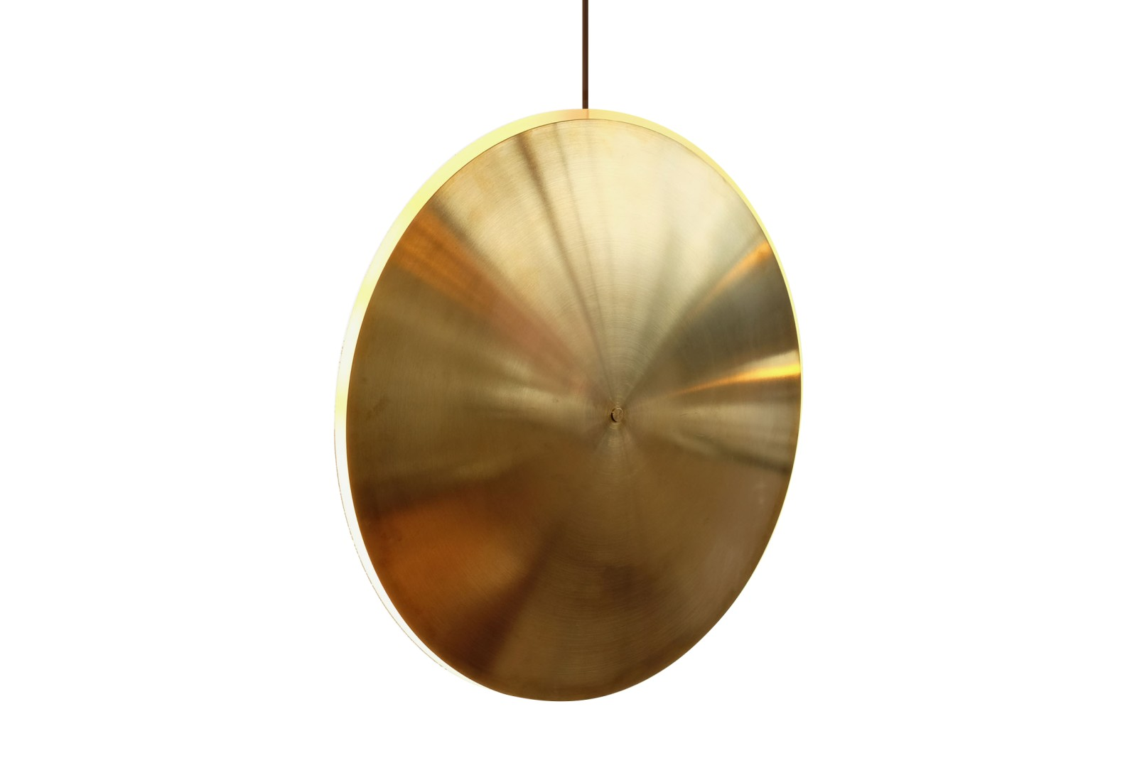 Dish17v Pendant Light Brass
