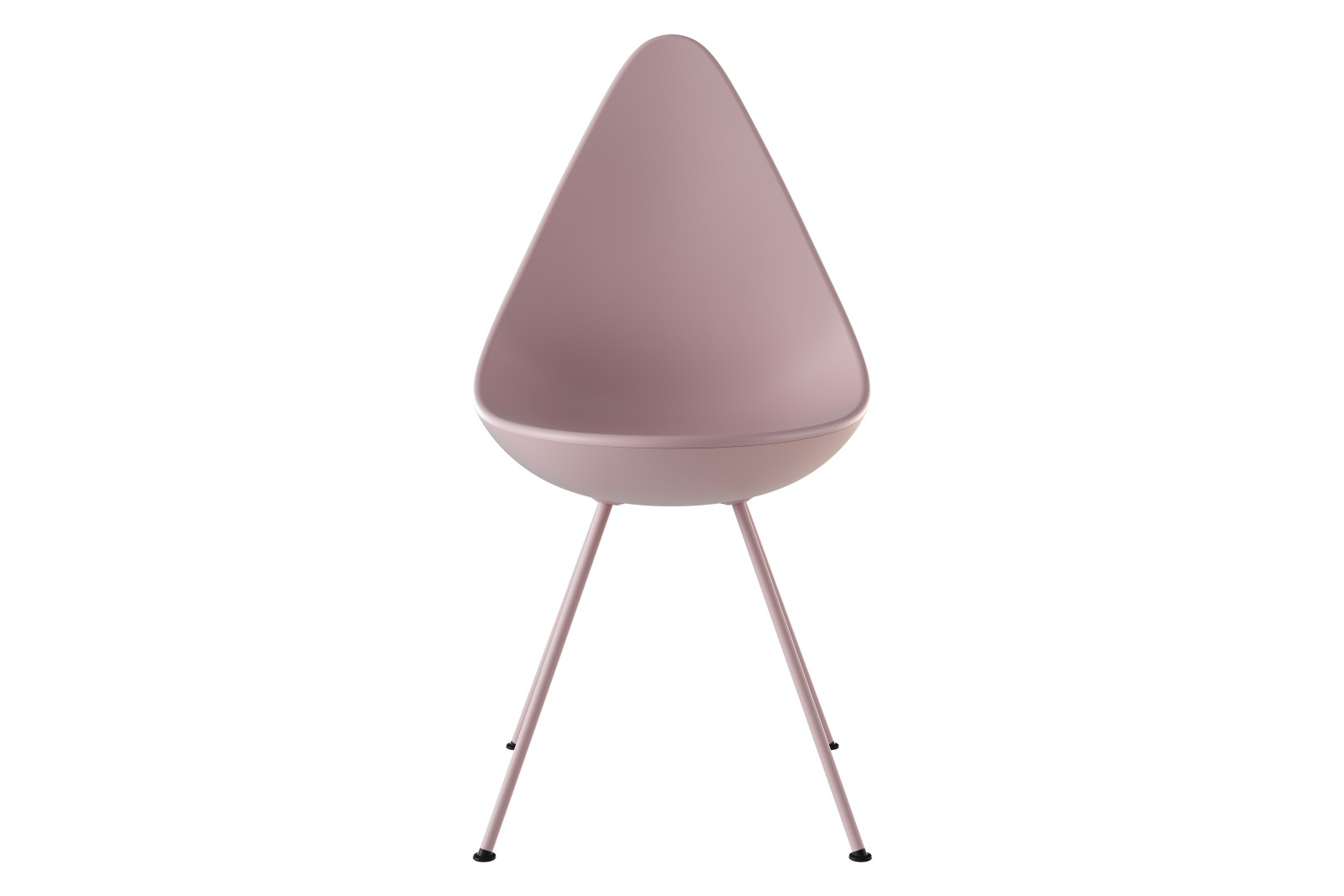 Drop Chair Drop Millenial Pink, Powder coated