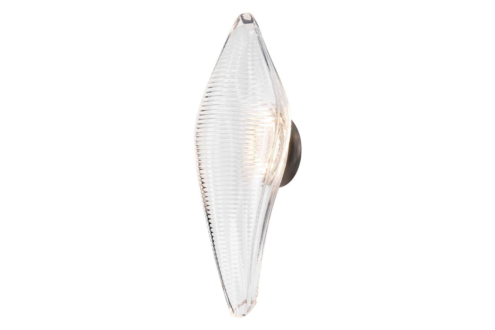 Duna Wall Light Anodized Silver