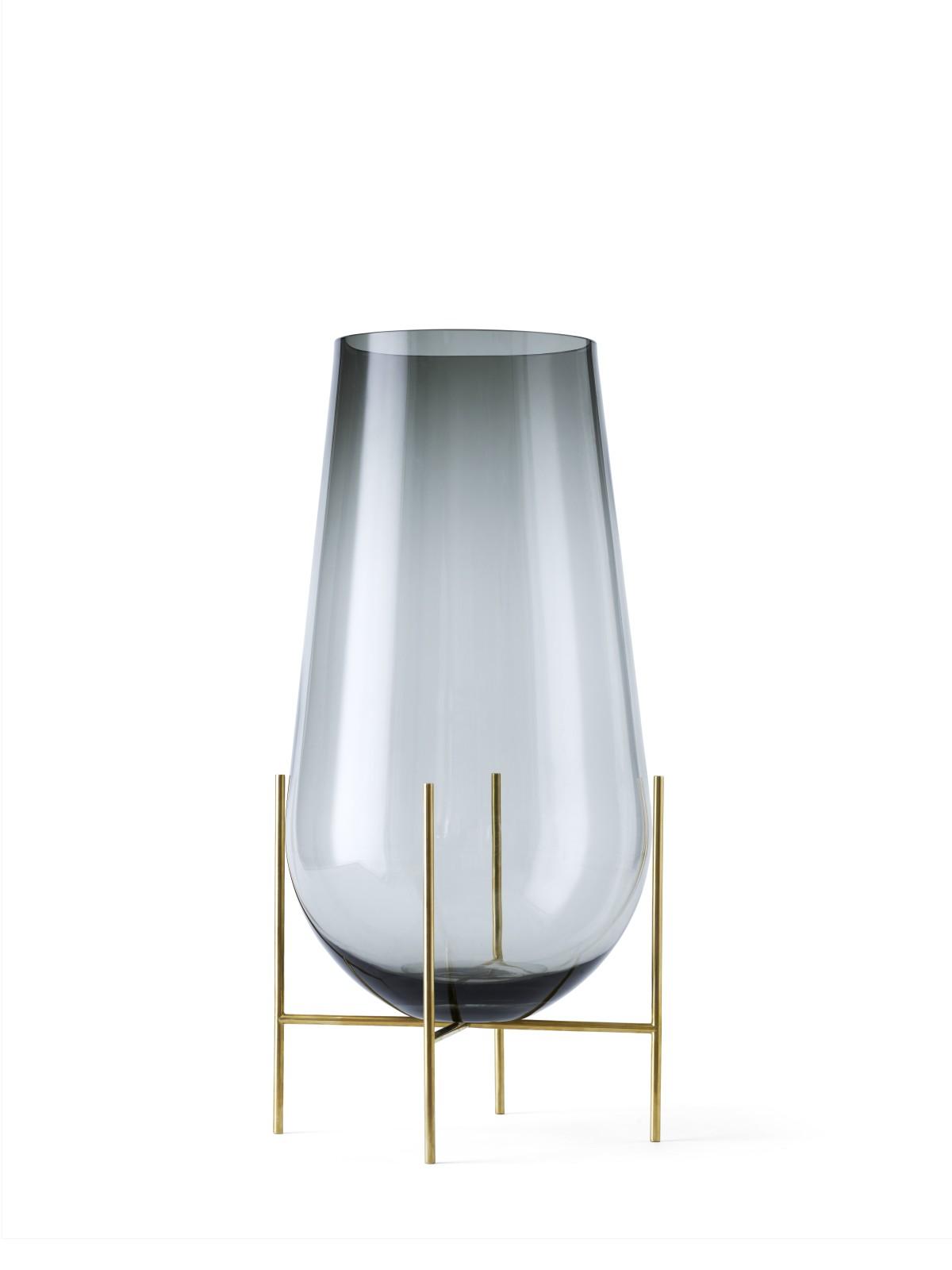 Echasse Vase Smoke, L