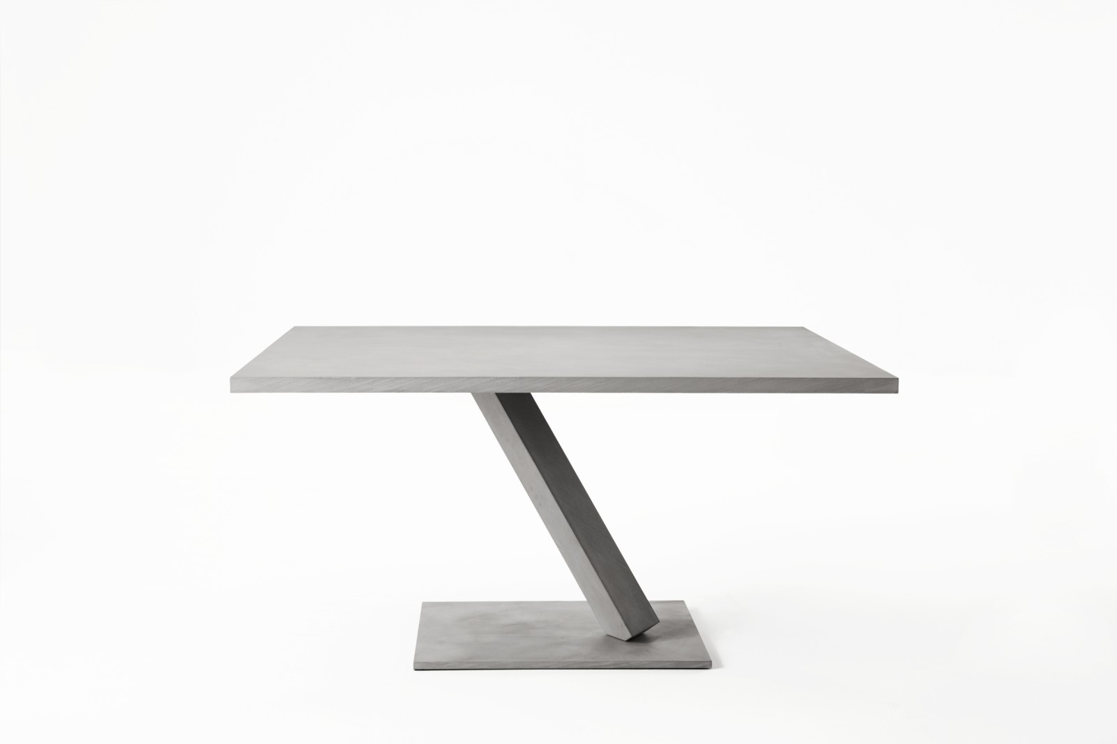 Element Table - Square D65 Concrete Grey Luna